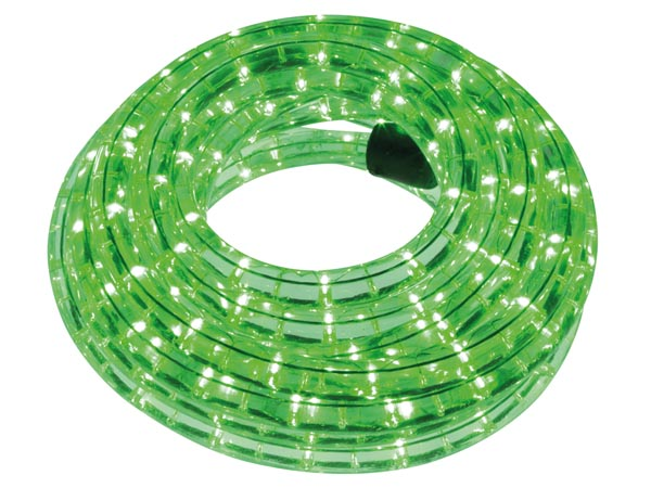 LED ROPE LIGHT - 9 m - GREEN