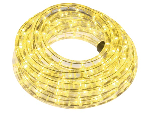LED ROPE LIGHT - 9 m - YELLOW