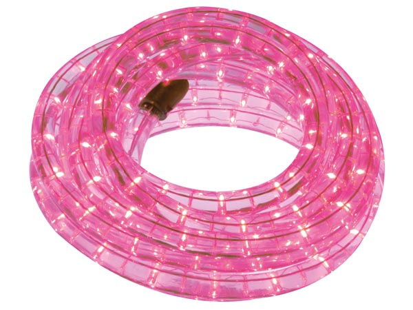 LED ROPE LIGHT - 9 m - PINK