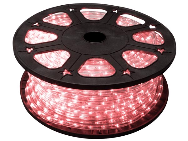 LED ROPE LIGHT - 45 m - RED