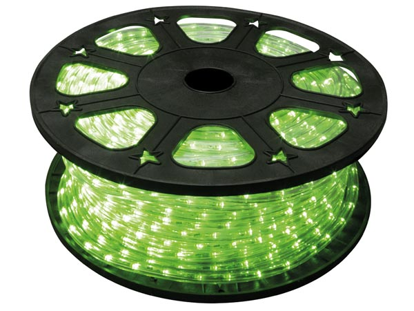 LED ROPE LIGHT - 45 m - GREEN