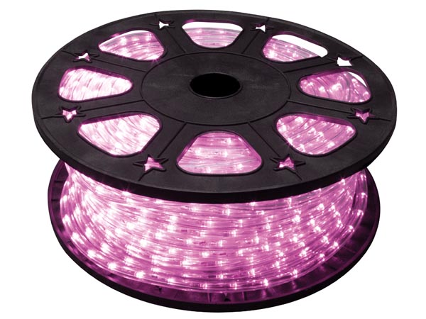 LED ROPE LIGHT - 45 m - PINK