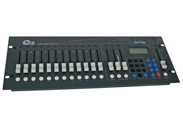 12-channel Dmx DIMMing Console