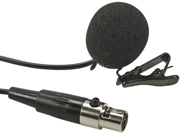 LAVALIER MICROPHONE FOR BODY-PACK MICW43
