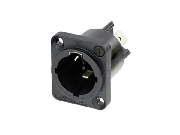 NEUTRIK - POWERCON TRUE1 TOP - 16 A, LOCKING MALE CHASSIS CONNECTOR