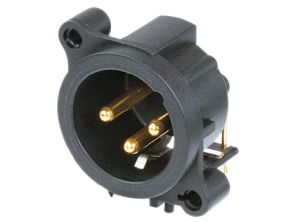 NEUTRIK - XLR MOUNTING CONNECTOR, 3-PIN FEMALE, SEPARATE GROUND CONTACT