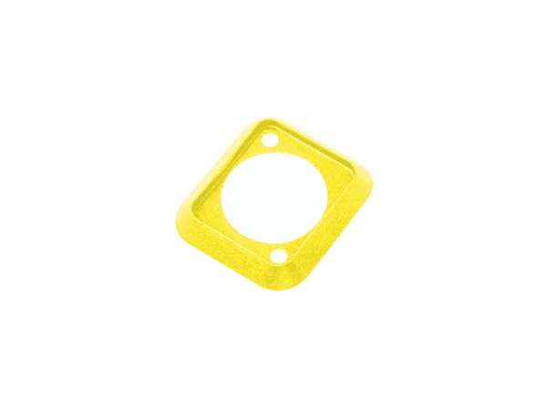 NEUTRIK - YELLOW SEALING GASKET, D-SHAPE, DUST AND WATER-RESISTANT