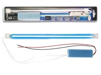 BLUE COLD-CATHODE FLUORESCENT LAMP + POWER SUPPLY, 30cm
