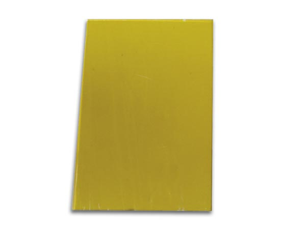 SPARE YELLOW GLASS PANE FOR VDL5004DL