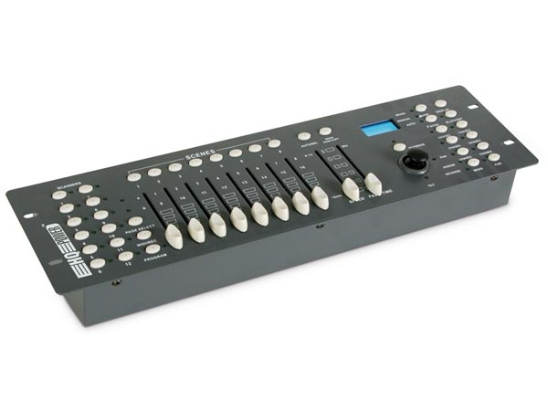 192-CHANNEL DMX CONTROLLER WITH JOYSTICK