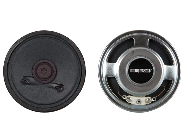 MINI LOUDSPEAKER - 0.5W / 8 ohm - Ø 50mm