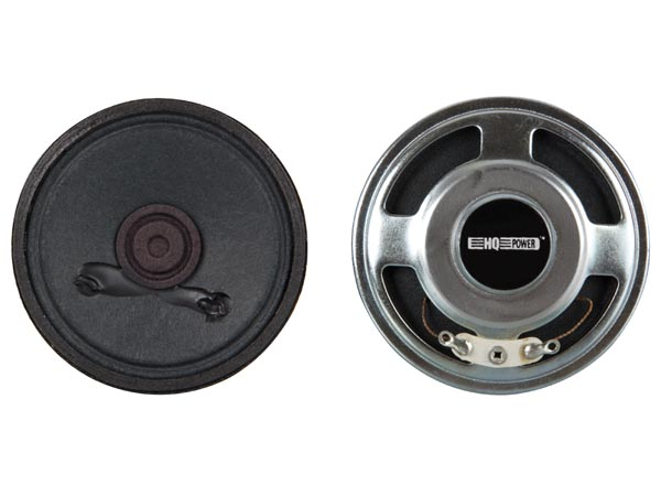 MINI LOUDSPEAKER - 2W / 8 ohm - Ø 66mm