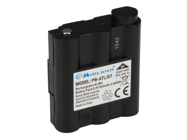 Spare Battery 800mah Ni-mh For Aln004 & Aln020 (midland G 7)