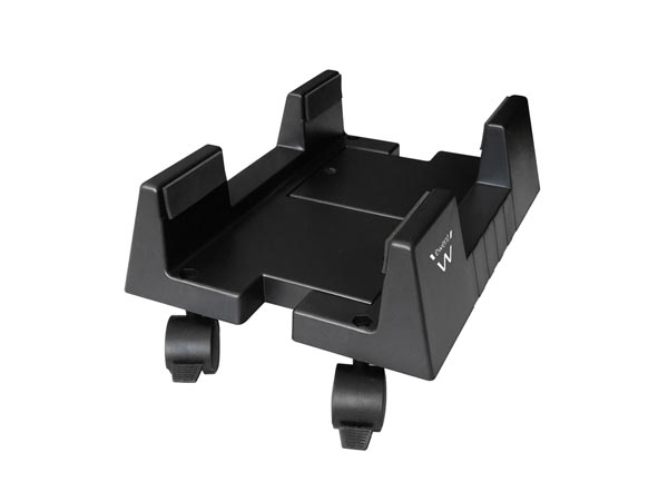 EWENT - ADJUSTABLE CPU STAND ON WHEELS