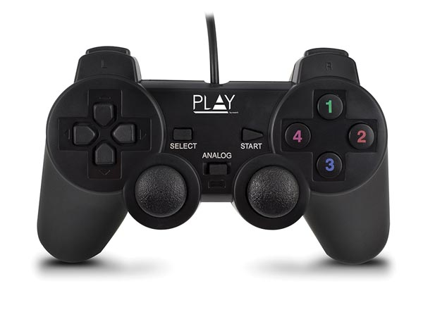 Ewent EM3330: EWENT - WIRED USB GAMEPAD FOR PC – Velleman