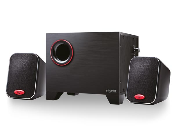 EWENT - SPEAKER SET 2.1 WITH SUBWOOFER