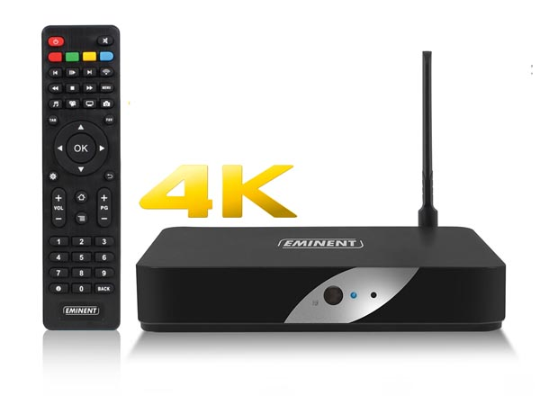 EMINENT - 4K TV voogedastaja POWERED BY LibreELEC KODI