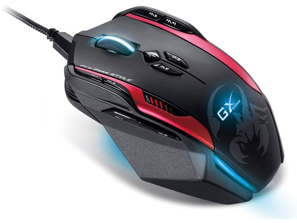 Professional Mmo/rts Approved Gaming Mouse Gila (genius)