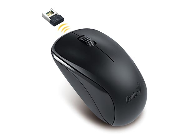 Wireless Optical Mouse Nx-7000 2.4GHz 1200dpi Blueeye