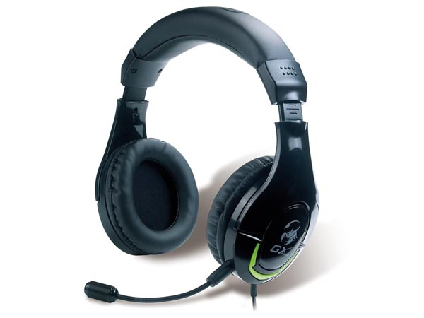 UNIVERSAL AMPLIFIED GAMING HEADSET HS-G600 MORDAX (GENIUS)