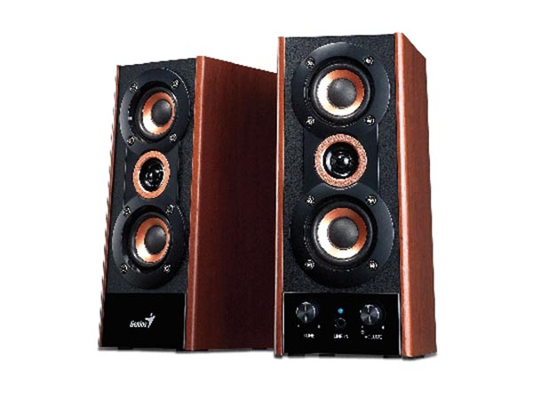 GENIUS - 3-WAY WOOD SPEAKERS SP-HF800A