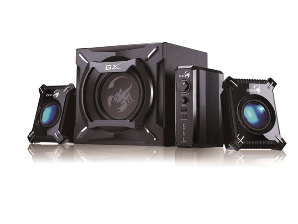 Thunderclap Bass Gaming Speaker System Sw-g2.1 2000