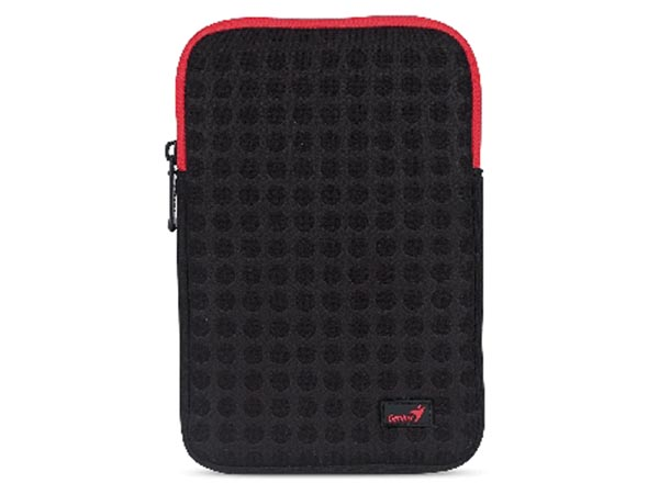 Sleeve Gs-721 7in Black Red For E-book Reader / Tablet Pc
