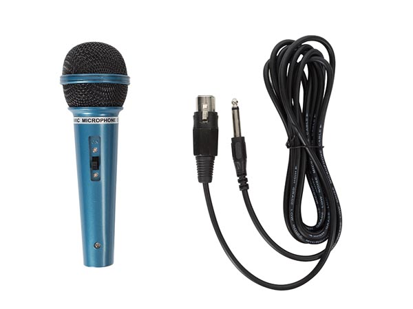 DYNAMIC MICROPHONE - BLUE