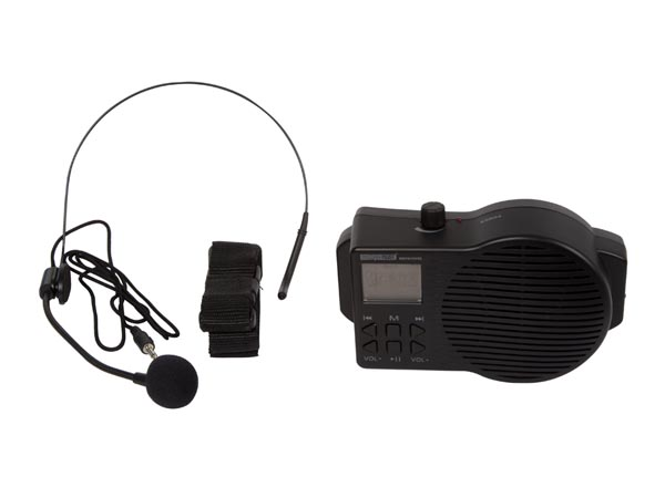 PORTABLE PUBLIC ADDRESS SYSTEM with USB/SD and FM radio