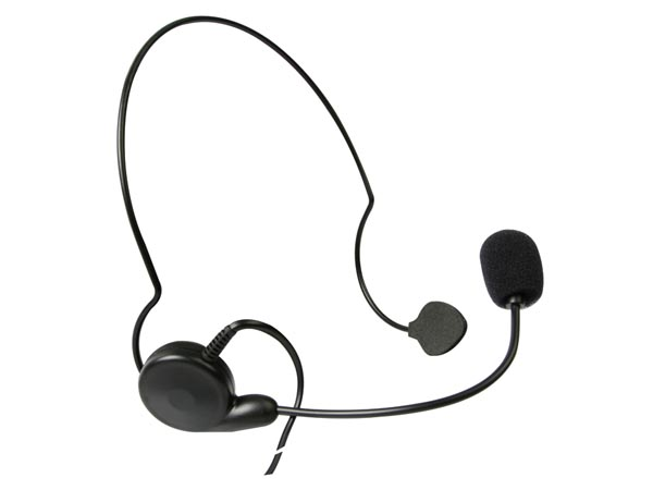 Kenwood Headset Wptt - Neck Type/single Ear With Lock