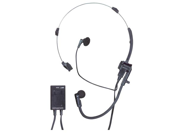 Kenwood Lightweight Headset With Vox & Ptt (khs-1)
