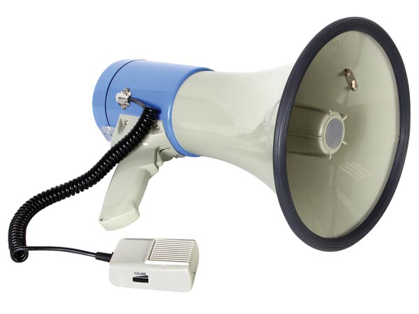 Megaphone With Sd Card Slot And USB - 25w