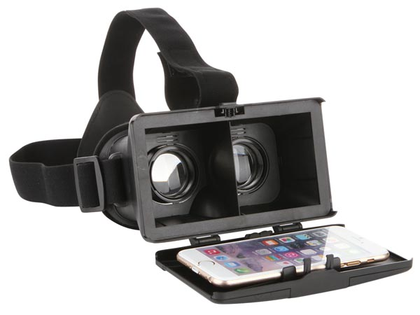 Virtual Reality 3d Glasses For Smartphone - Max Body Size 154 X 82mm (ca. 6 X 3.2