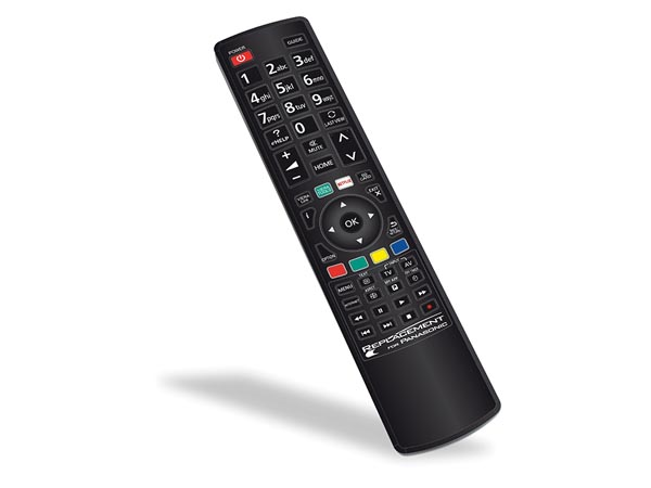 REPLACEMENT  REMOTE CONTROL FOR ALL PANASONIC TVs