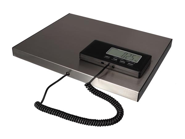 DIGITAL POSTAL SCALE WITH EXTERNAL DISPLAY - 150 kg / 50 g
