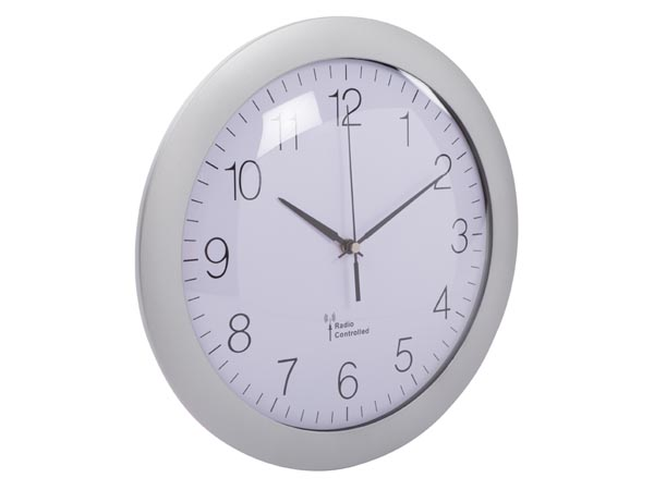 WALL CLOCK WITH DCF - Ø 30 cm