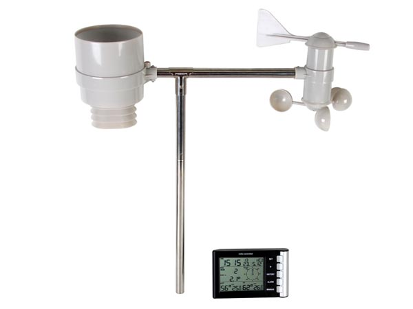 WIRELESS WEATHER STATION, DCF CLOCK, OUTDOOR SENSOR