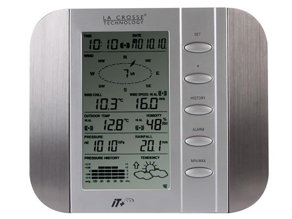 lacrosse technologies weather station manual