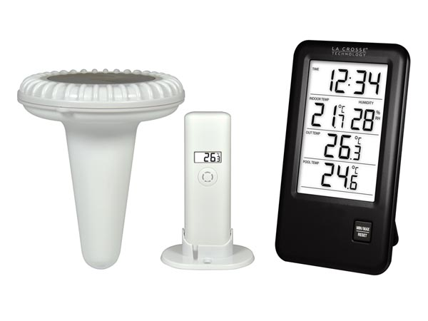 LA CROSSE - OUTDOOR & POOL THERMOMETER