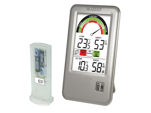 CLOCK WITH IN/OUT TEMPERATURE AND EXTRA PROBE - IT+ TECHNOLOGY