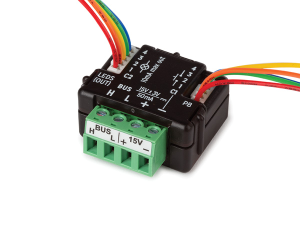 4-channel Push Button Interface
